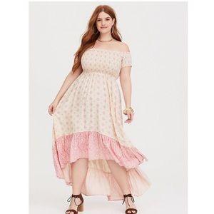 NEW Torrid High Low Dress 2X